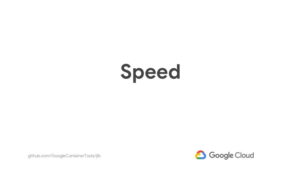 github.com/GoogleContainerTools/jib Speed