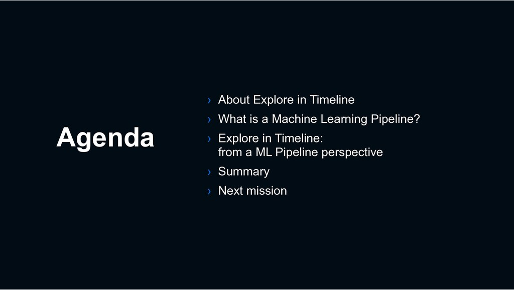 Agenda › About Explore in Timeline › What is a ...