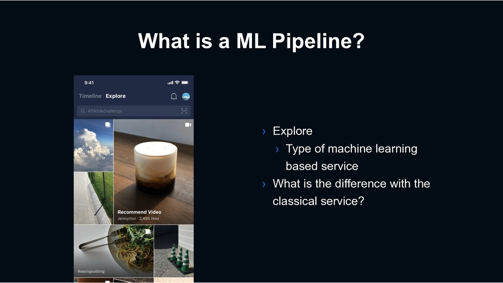What is a ML Pipeline? › Explore › Type of mach...