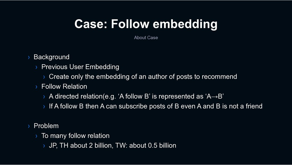 Case: Follow embedding About Case › Background ...
