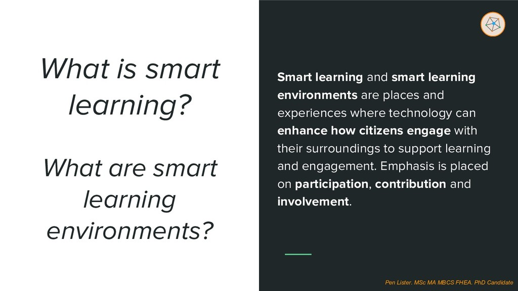 What is smart learning? Smart learning and smar...