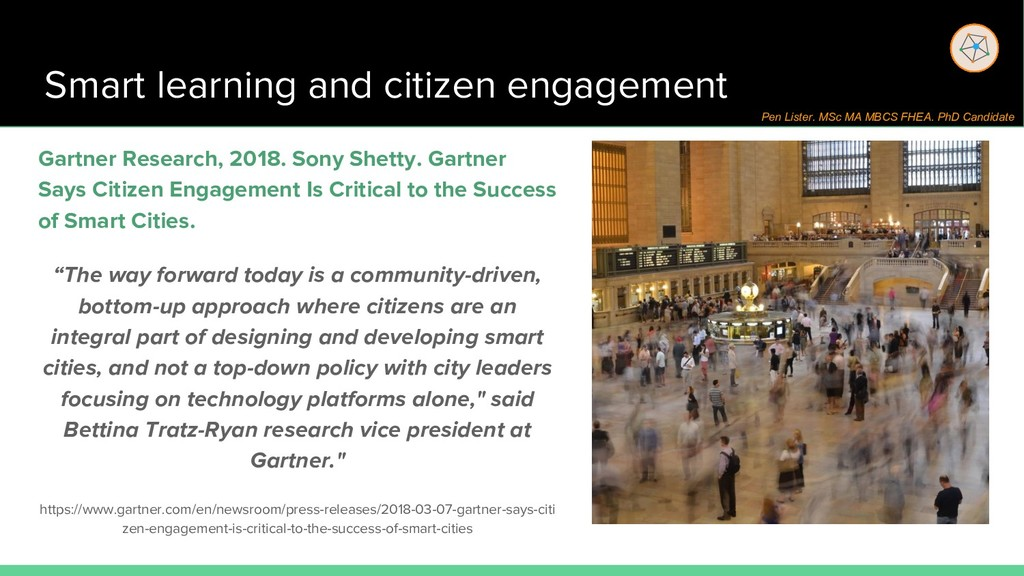 Smart learning and citizen engagement Gartner R...