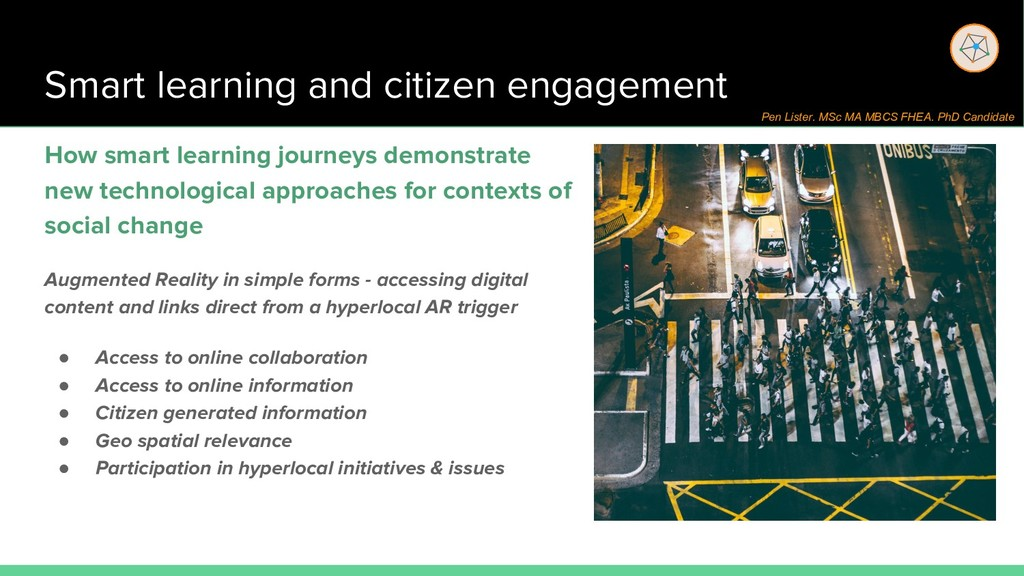 Smart learning and citizen engagement How smart...