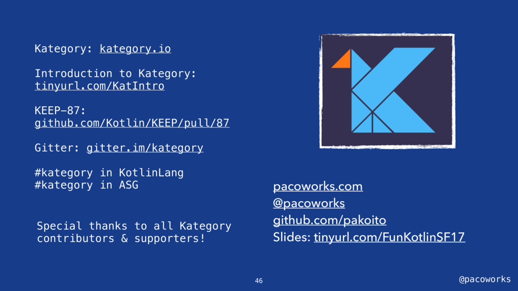 @pacoworks Kategory: kategory.io Introduction t...
