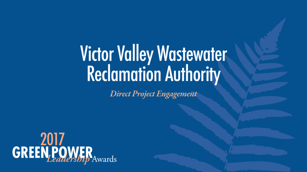 Victor Valley Wastewater