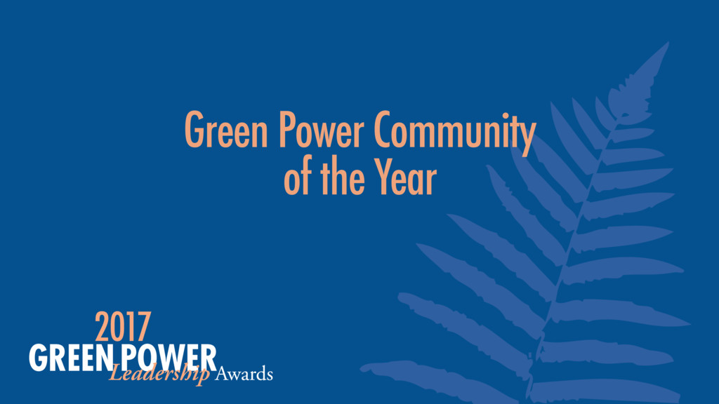 Green Power Community