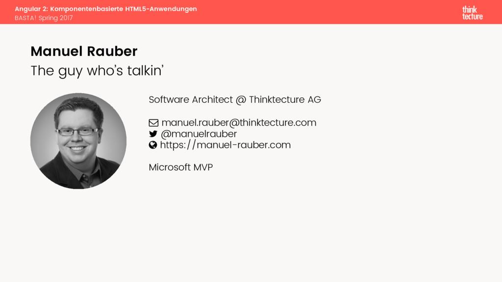 Angular 2: Komponentenbasierte HTML5-Anwendunge...