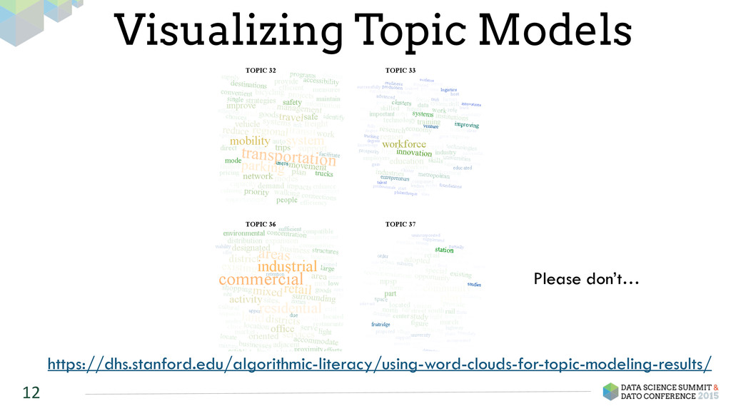 12 Visualizing Topic Models https://dhs.stanfor...