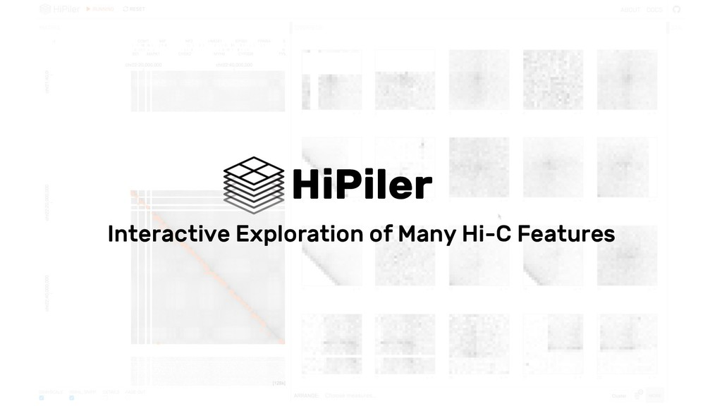 HiPiler Interactive Exploration of Many Hi-C Fe...