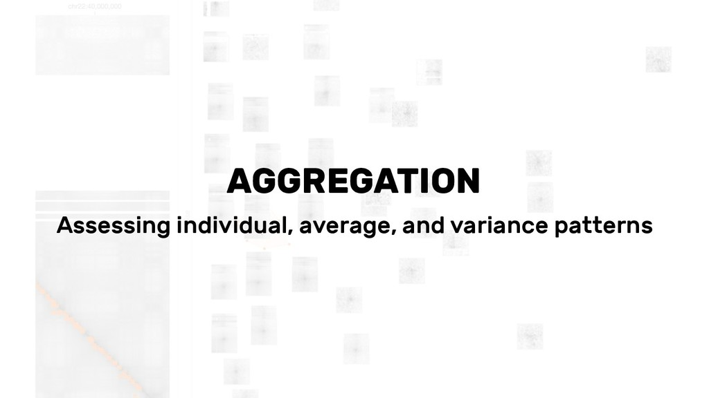 AGGREGATION Assessing individual, average, and ...