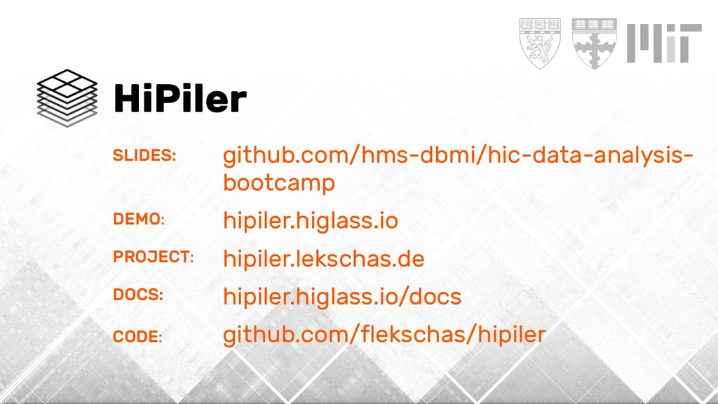 HiPiler SLIDES: