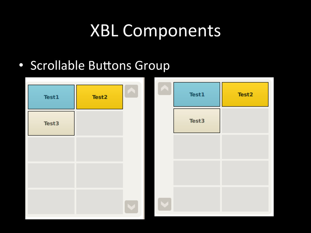 XBL Components • Scrollable BuSons G...
