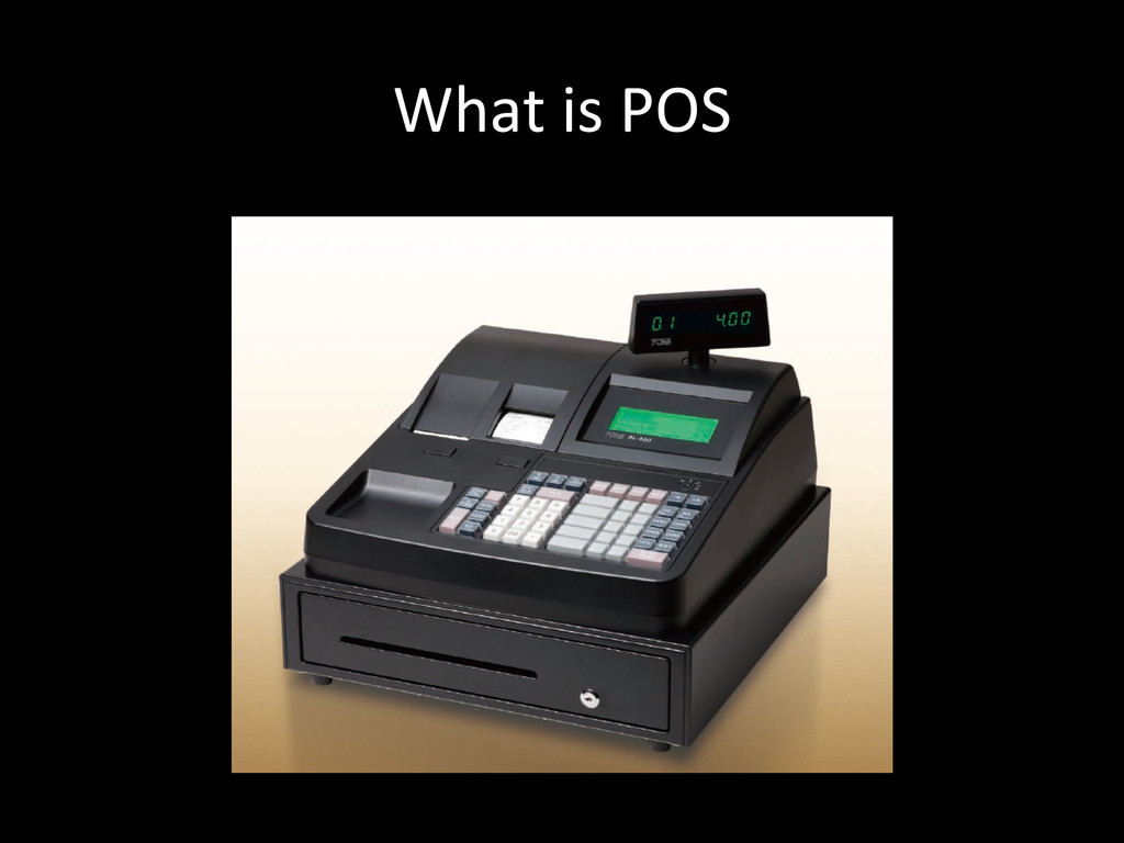 What is POS