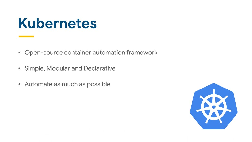 Kubernetes • Open-source container automation f...