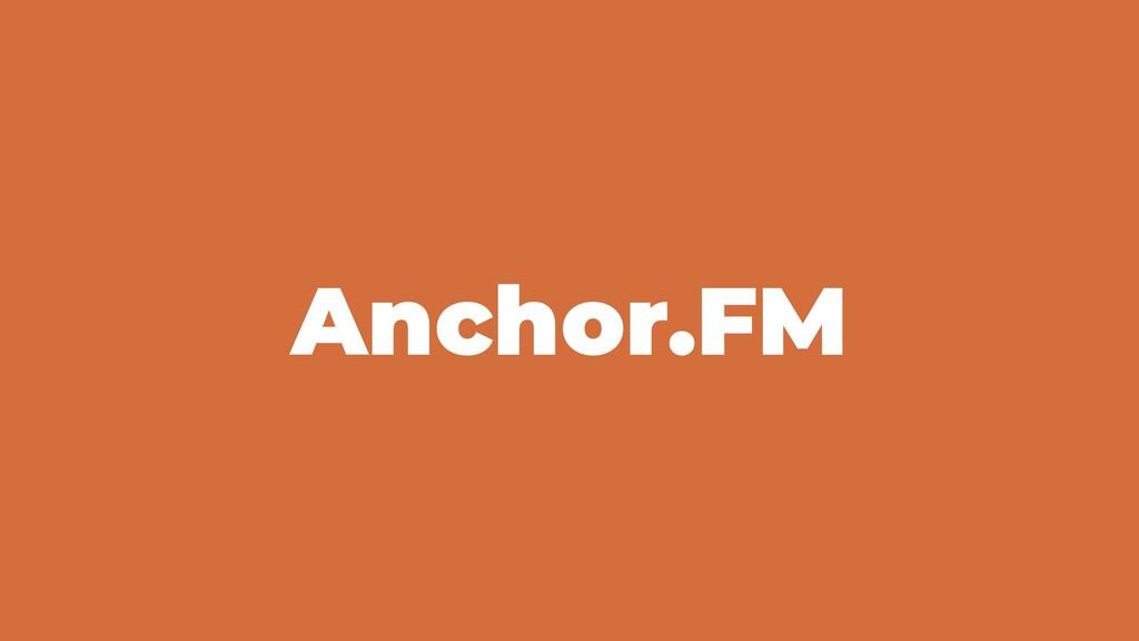 Anchor.FM