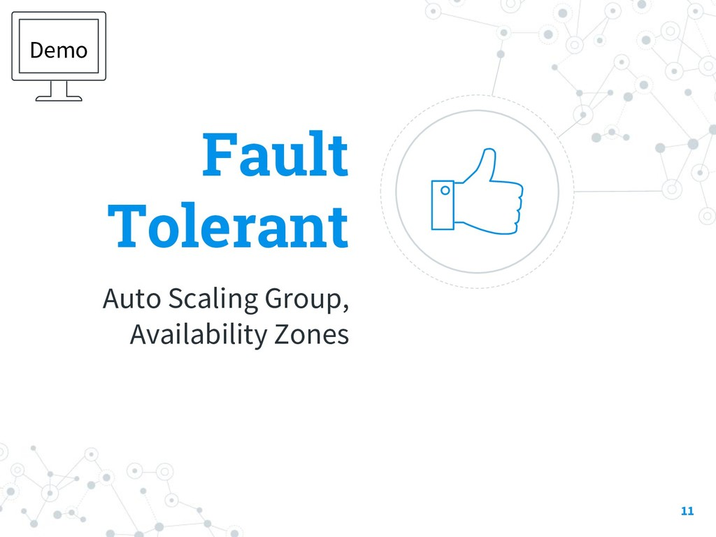 Fault Tolerant Auto Scaling Group, Availability...