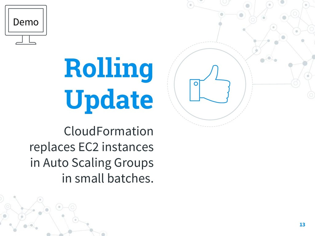 Rolling Update CloudFormation replaces EC2 inst...