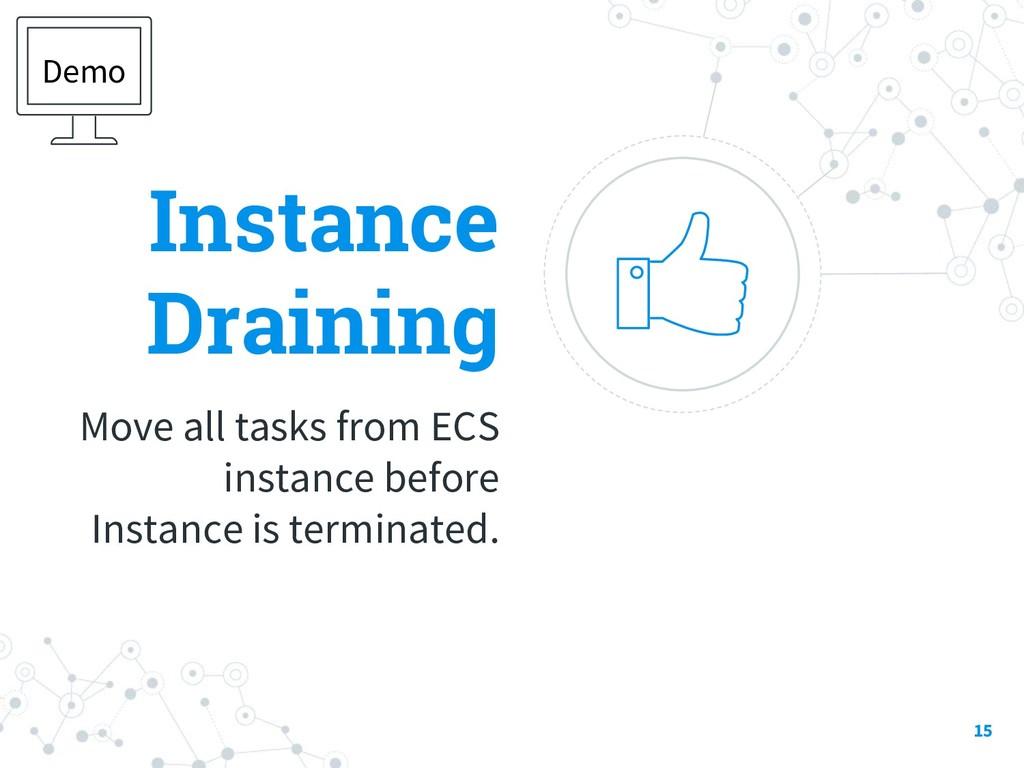 Instance Draining Move all tasks from ECS insta...