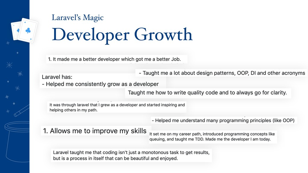 Developer Growth Laravel's Magic