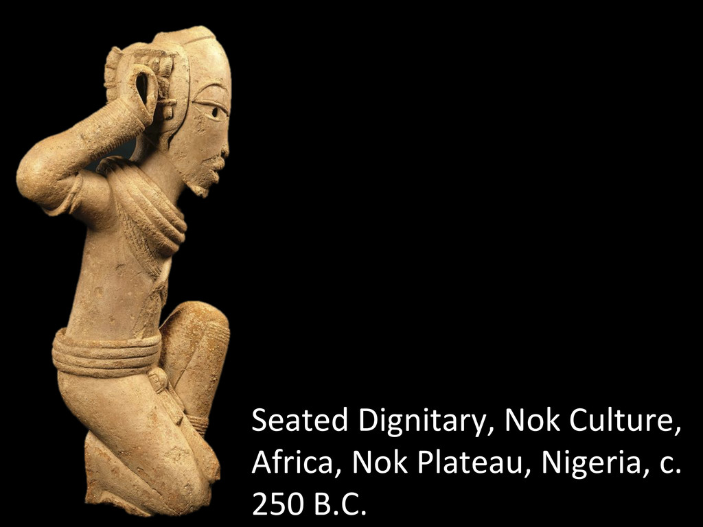 Seated Dignitary, Nok Culture,  Afr...