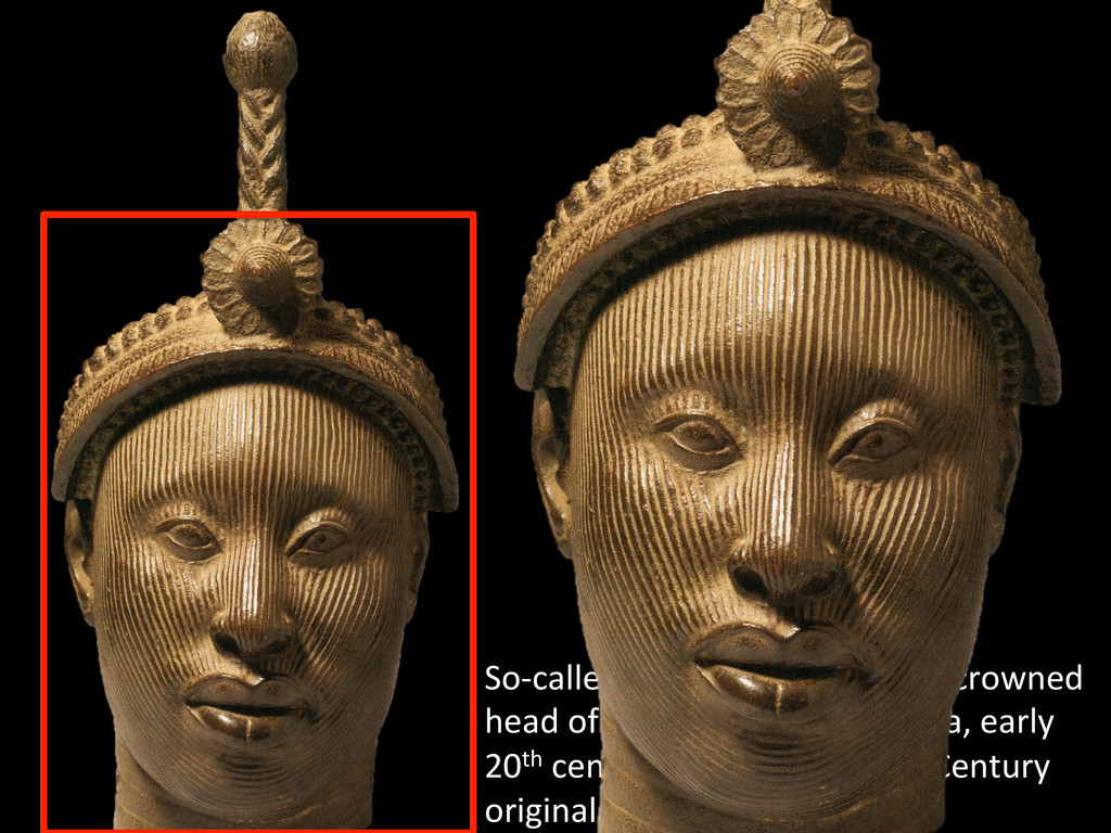 """So-‐called """"Ori Olokun,"""" likely a..."""