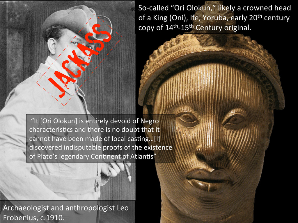 Archaeologist and anthropologist Leo...