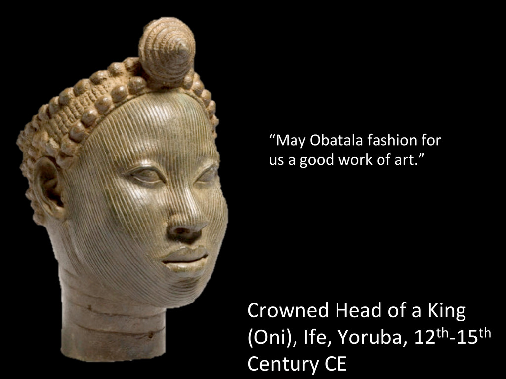 Crowned Head of a King  (Oni),...