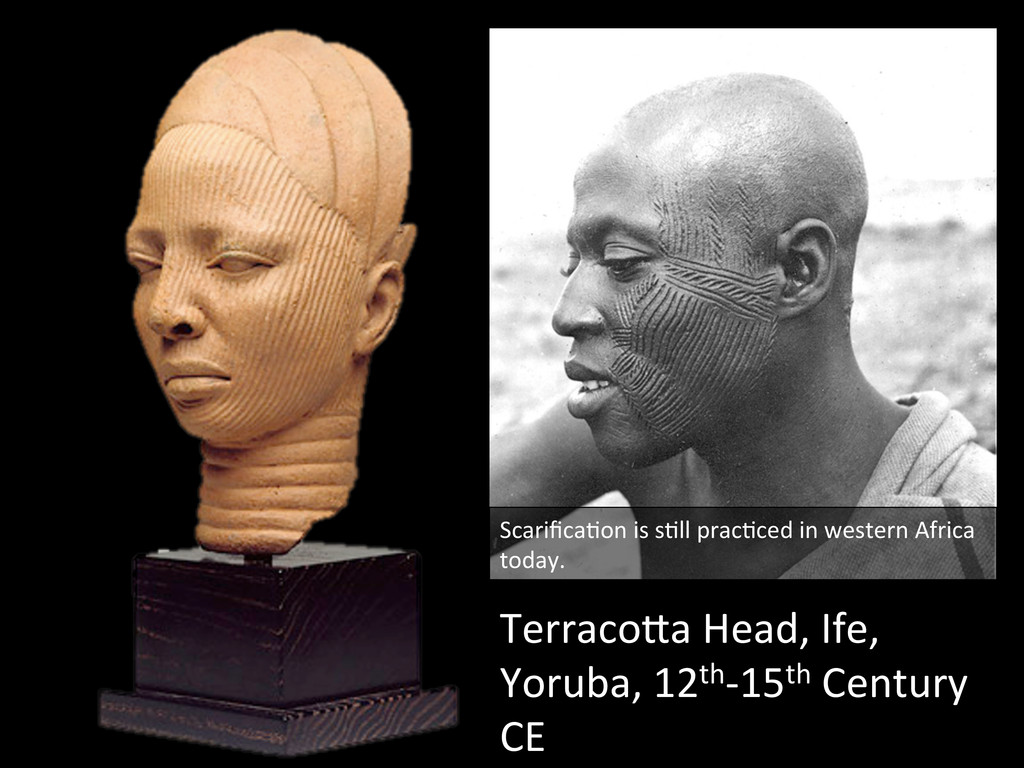 TerracoQa Head, Ife,  Yoruba, 12th-...