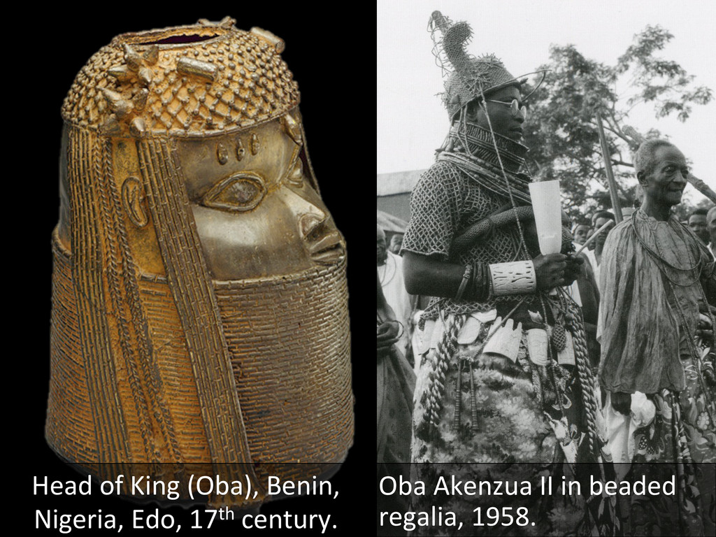 Head of King (Oba), Benin,  Nige...
