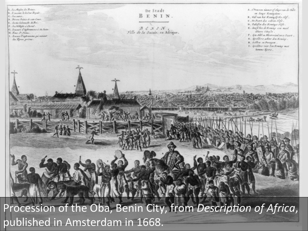 Procession of the Oba, Benin Cit...