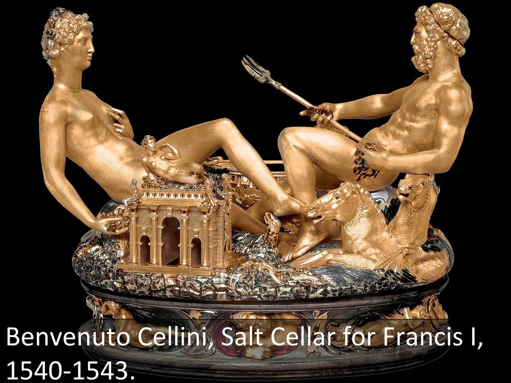 Benvenuto Cellini, Salt Cellar for...