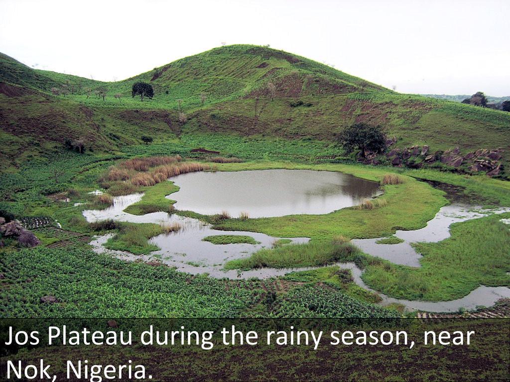 Jos Plateau during the rainy sea...