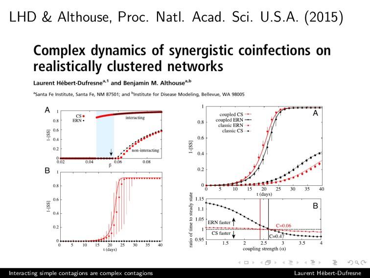 LHD & Althouse, Proc. Natl. Acad. Sci. U.S.A. (...