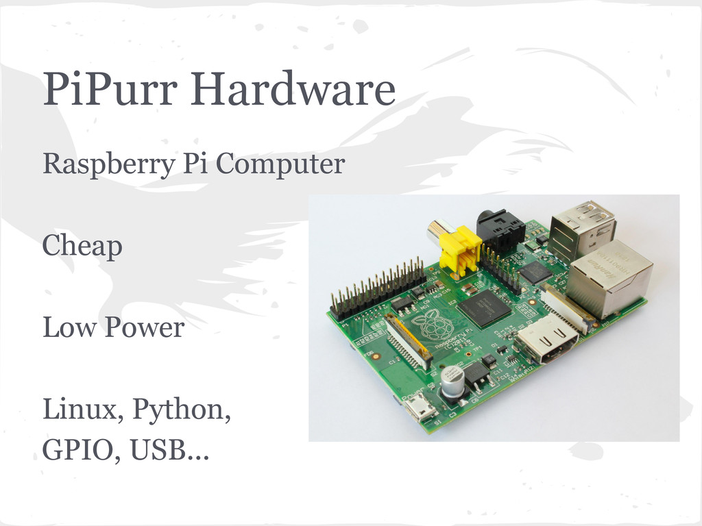 PiPurr Hardware Raspberry Pi Computer Cheap Low...
