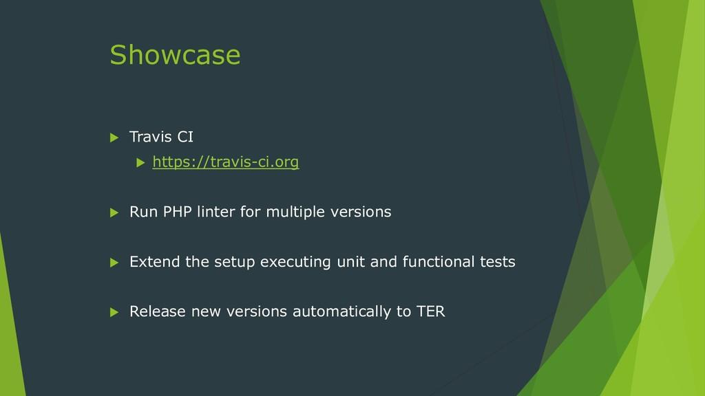 Showcase  Travis CI  https://travis-ci.org  ...
