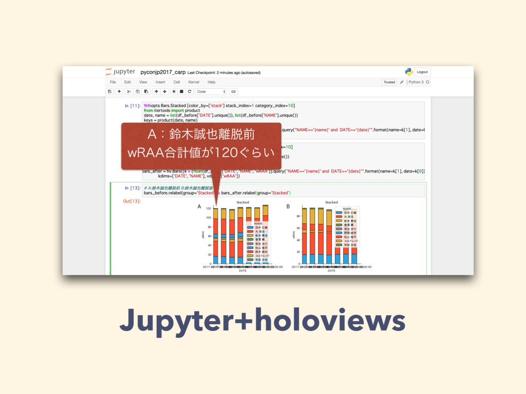 """Jupyter+holoviews """"ɿླલ X3""""""""߹ܭ͕͙Β͍"""