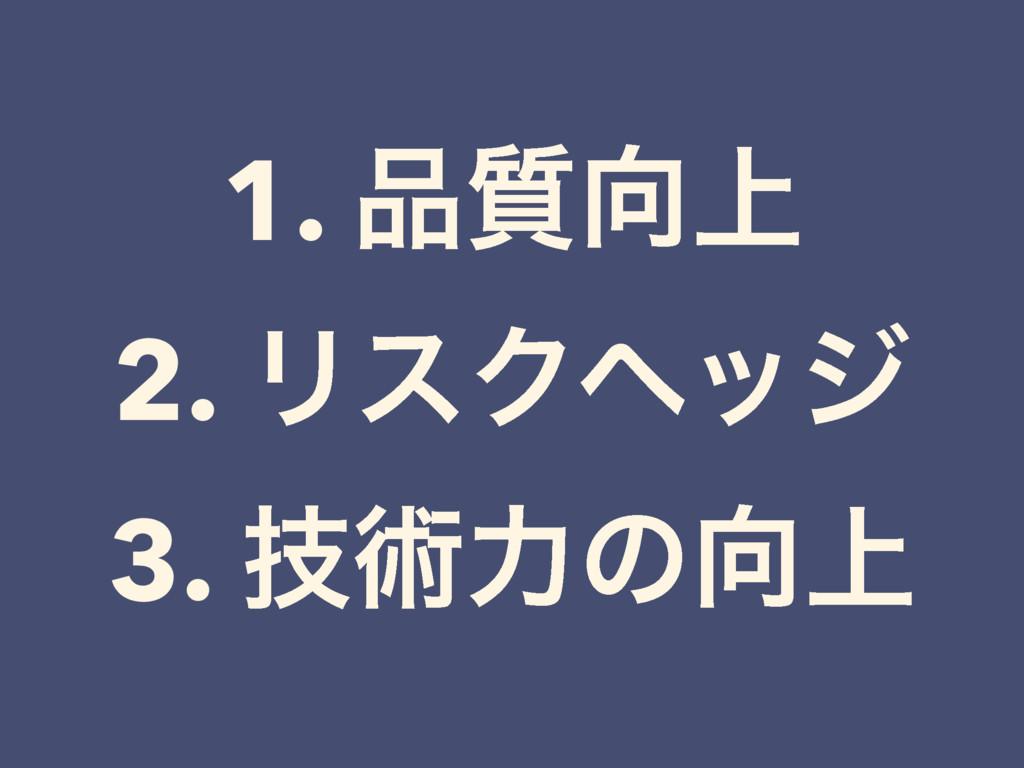 1. ্࣭ 2. ϦεΫϔοδ 3. ٕज़ྗͷ্