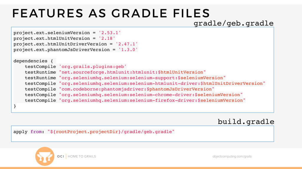 FEATURES AS GRADLE FILES objectcomputing.com/gr...
