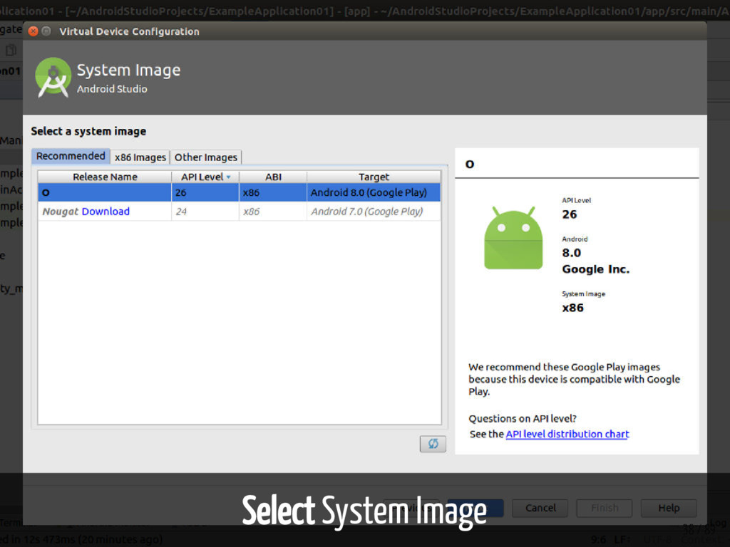 Select System Image 38 / 89