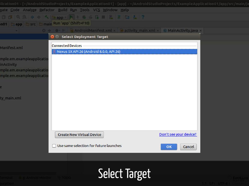 Select Target 43 / 89