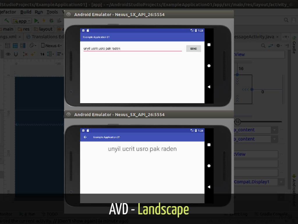 AVD - Landscape 76 / 89