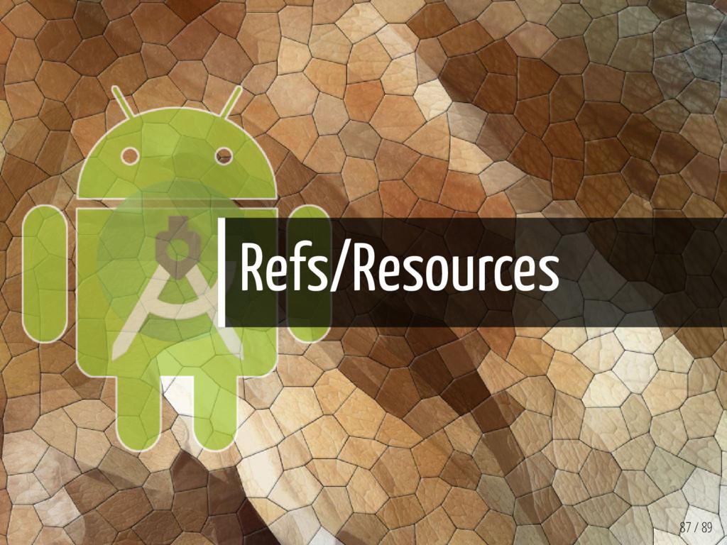 Refs/Resources 87 / 89