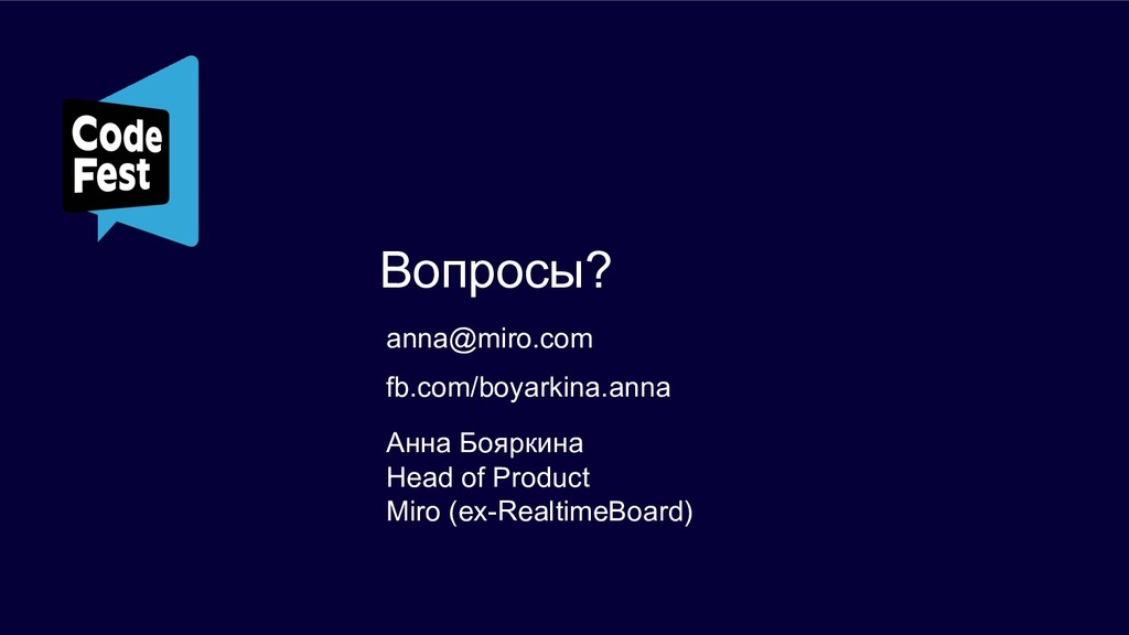 anna@miro.com Анна Бояркина Head of Product Mir...