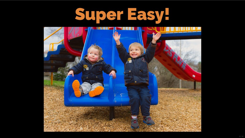 Super Easy! 15/28