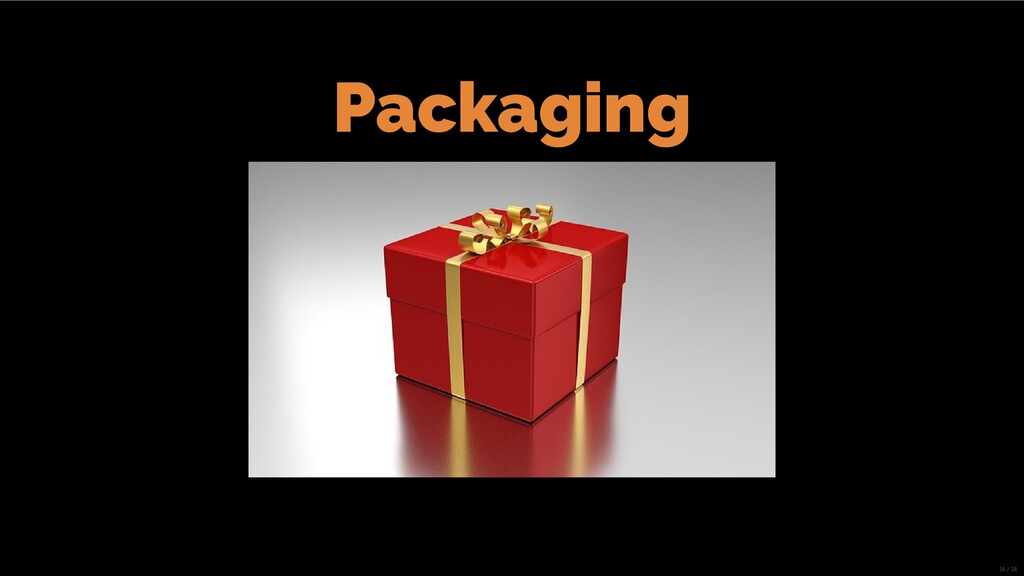 Packaging 16/28