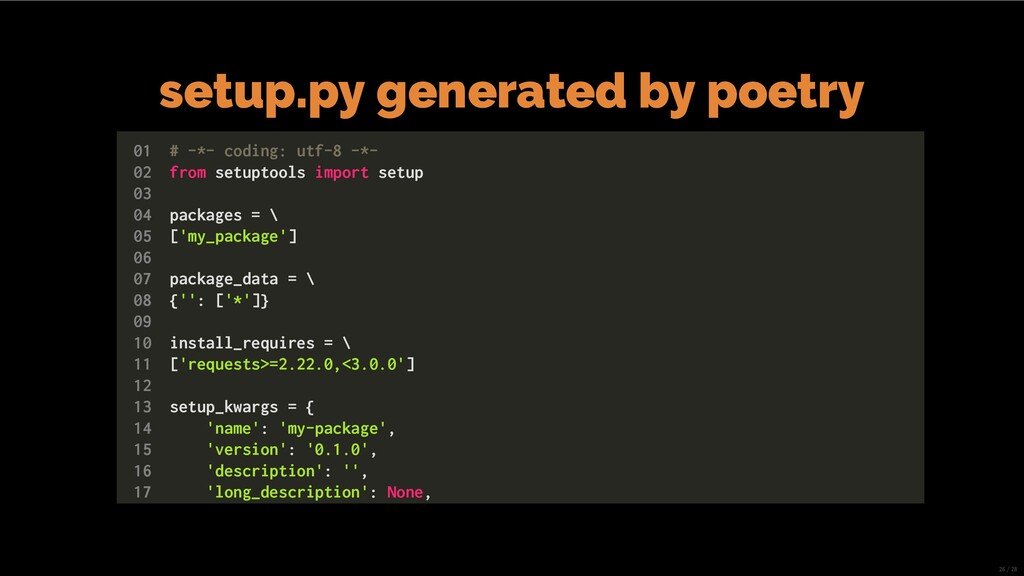 setup.py generated by poetry 01 # -*- coding: u...