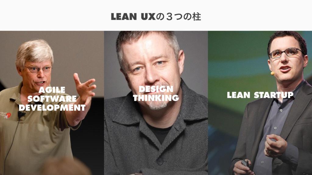 LEAN UXͷ̏ͭͷப AGILE SOFTWARE DEVELOPMENT DESIGN ...