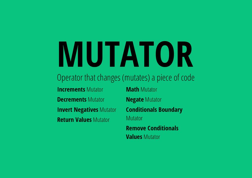 Increments Mutator Decrements Mutator Invert Ne...