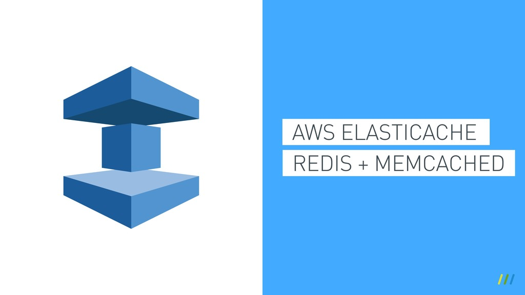 AWS ELASTICACHE REDIS + MEMCACHED