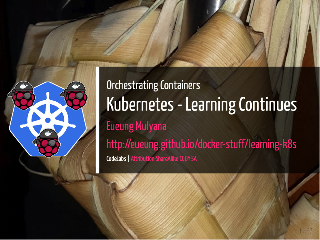 Orchestrating Containers Kubernetes - Learning ...